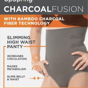 UpSpring Charcoal Fusion High Waist Panty