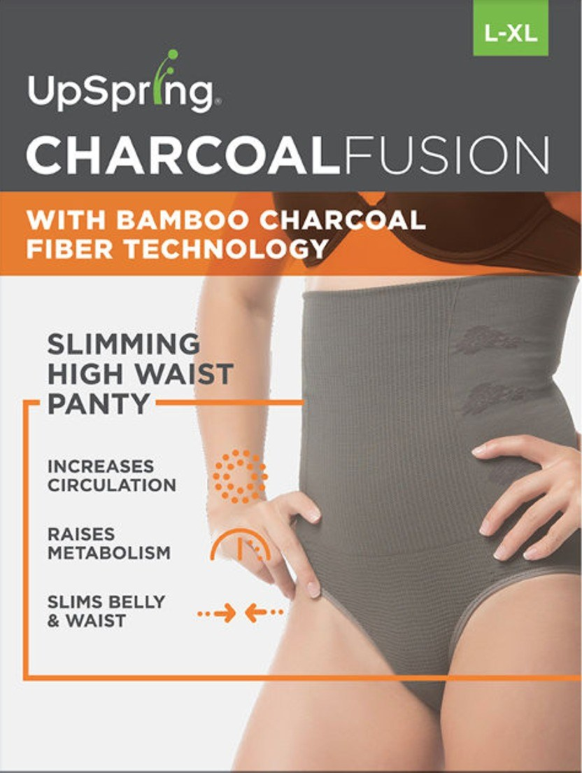 UpSpring Charcoal Fusion High Waist Panty