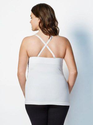 Bravado Body Silk Nursing Cami Cross straps