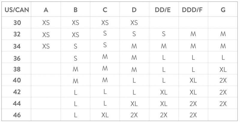 bravado-body-silk-size-chart