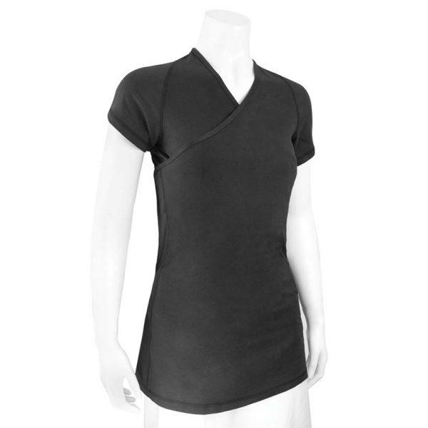 Black short sleeve Nuroo Pocket