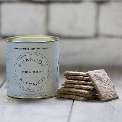 Franjos Kitchen Fennel & Fenugreek Lactation Crackers