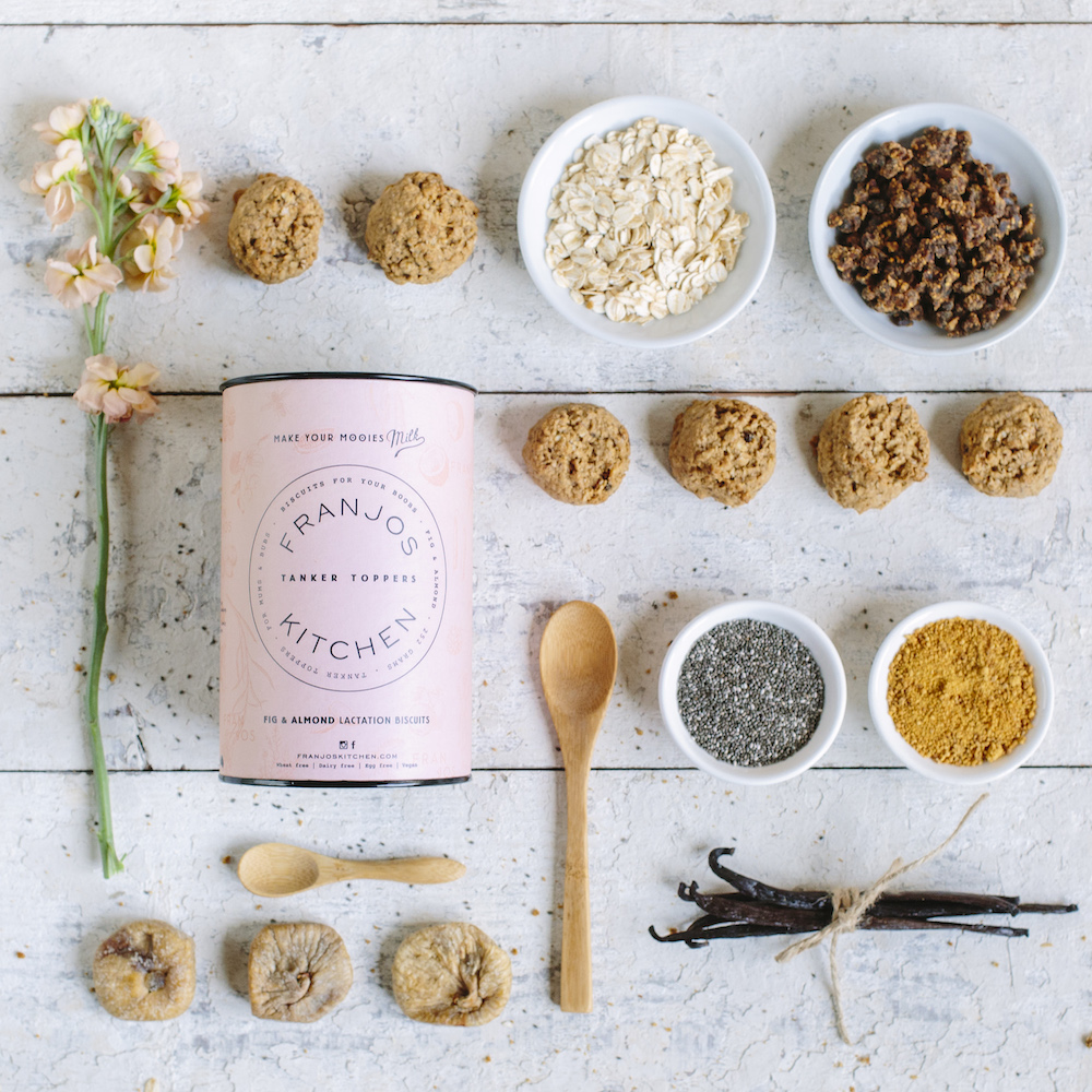 Franjos Kitchen Fig and Almond Lactation Cookies