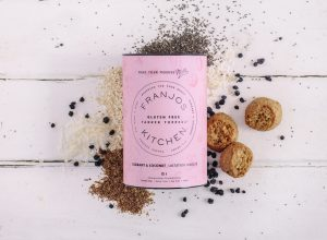 Franjos Kitchen Gluten Free Currant and Coconut Lactation Biscuits