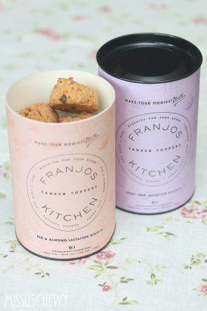 Franjos Kitchen Lactation cookies open