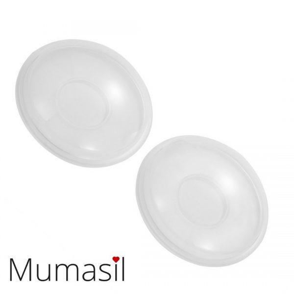Mumasil Silicone Milk Collection Shells