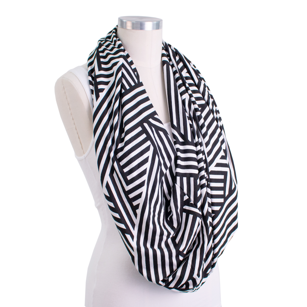 Bebe au lait 5 in 1 cover Knightbridge scarf