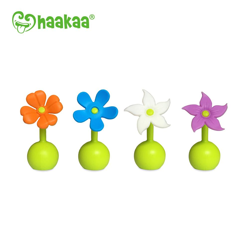 Haakaa Silicone Breast Plump Flower Stopper