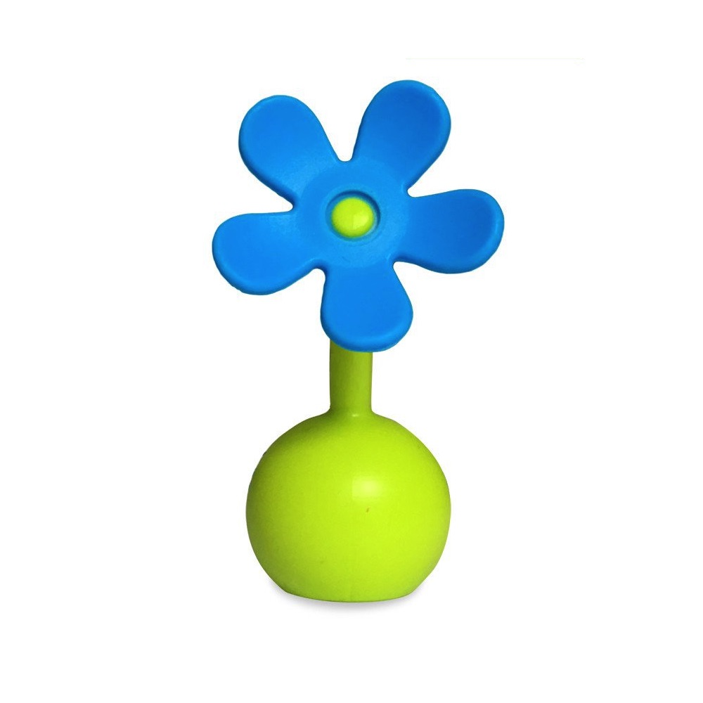 Haakaa Silicone Breast Pump Flower Stopper Blue