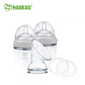 Haakaa Silicone Pump and Bottle Pack