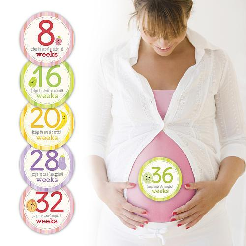Pregnancy Belly Stickers by Pearhead