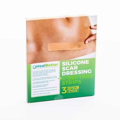 C-Section Silicone Scar Strips