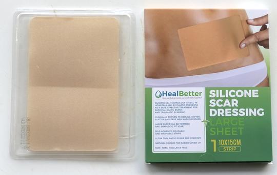 Silicone Scar Dressing Large Sheet