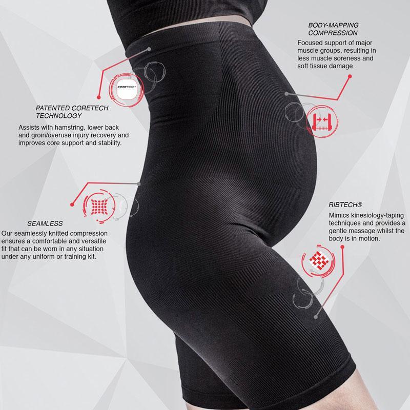 Supacore Prenatal Support Shorts Features